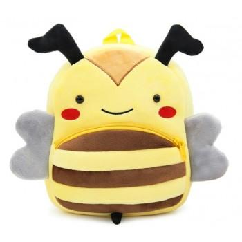 Детский рюкзак BG8019 плюшевый (Пчелка)
