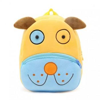 Детский рюкзак BG8019 плюшевый (Пёсик)