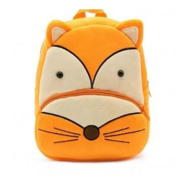 Детский рюкзак BG8019 плюшевый (Лисица)