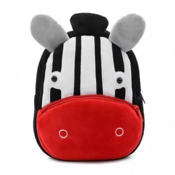 Детский рюкзак BG8019 плюшевый (Зебра)