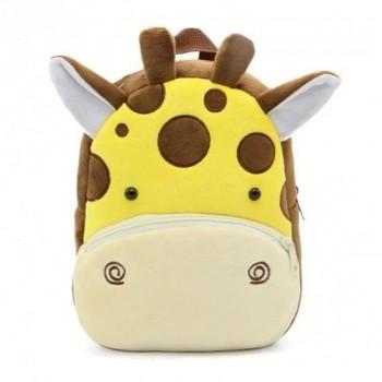 Детский рюкзак BG8019 плюшевый (Жираф)