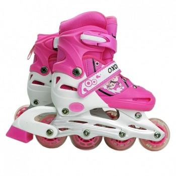 Детские ролики RS17002 размер 31-34 (Pink)