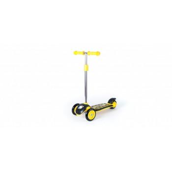 Детский самокат ORION трёхколесный (Желтый )