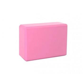 Блок для йоги, растяжки BT-SG-0002 (Розовый)