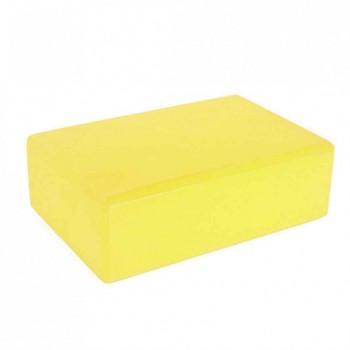 Блок для йоги, растяжки BT-SG-0002 (Жёлтый)