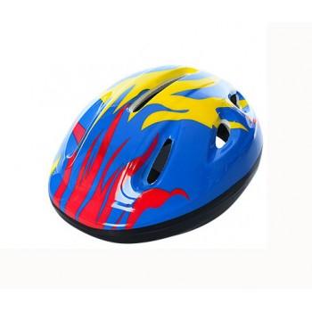 Детский шлем велосипедный MS 0013 с вентиляцией (Синий)