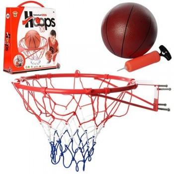 Баскетбольное кольцо 45см M 2654 с мячом и насосом