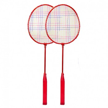 Бадминтон BD2002  2 ракетки, воланчик (Красный)