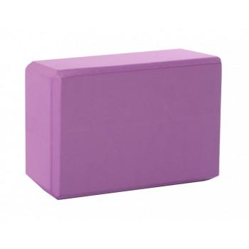 Блок для йоги MS 0858-3 материал EVA (Фиолетовый)