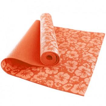 Йогамат коврик для йоги MS 1845-2-1 толщина 8 мм (Оранжевый)