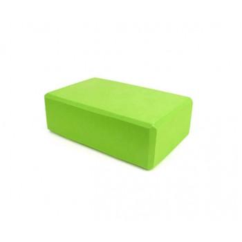 Блок для йоги, растяжки BT-SG-0002 (Зелёный)