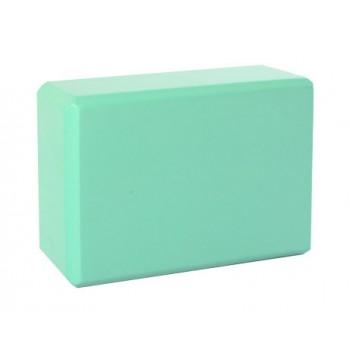 Блок для йоги MS 0858-3 материал EVA (Бирюзовый)