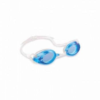 Детские очки для плавания Intex 55684, размер L (Голубой)