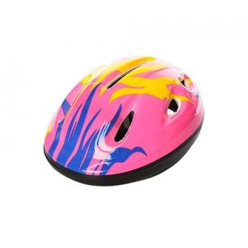 Детский шлем велосипедный MS 0013 с вентиляцией (Розовый)