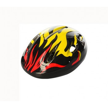 Детский шлем велосипедный MS 0013 с вентиляцией (Черный)