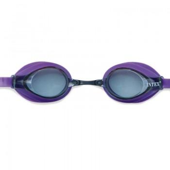 Детские очки для плавания Intex 55691 размер L (Фиолетовый)
