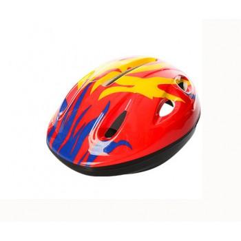 Детский шлем велосипедный MS 0013 с вентиляцией (Красный)