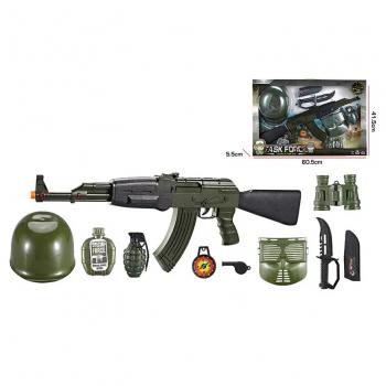 Детский игровой набор Военного F8528-7A с игрушечным автоматом АК-47