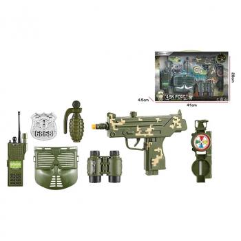 Детский игровой набор Военного F8528-2A с маской и УЗИ