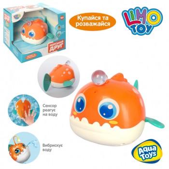 Детская игрушка для купания Рыбка 8103 подвижные детали