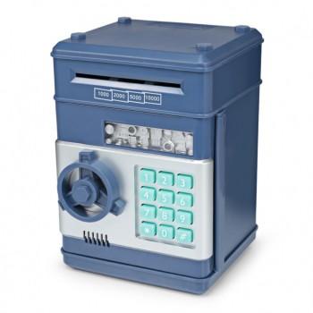 Детская копилка-сейф с кодом MK 4524 с купюроприемником (Темно-Синий)