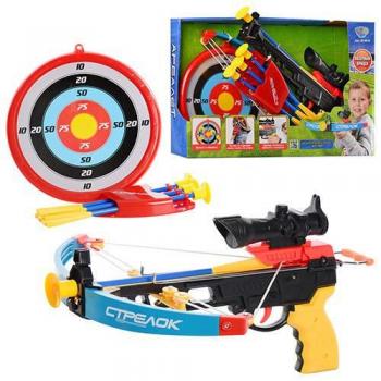 Детский Арбалет M 0010-UC стрелы на присосках