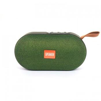 Колонка портативная Т-7 с Bluetooth и слотом для Micro SD (Зелёный)
