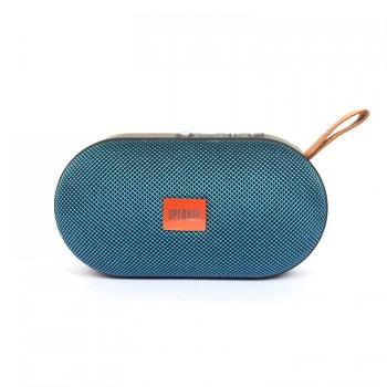 Колонка портативная Т-7 с Bluetooth и слотом для Micro SD (Синий)