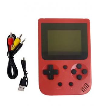Игровая консоль-приставка портативная JP-03, 500 игр (Красный)