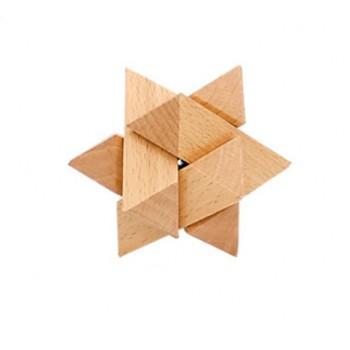 Головоломка MD 2056 деревянная (Звезда)