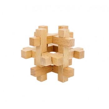 Головоломка MD 2056 деревянная (Клетка)