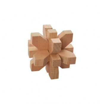 Головоломка MD 2056 деревянная (Цветок)