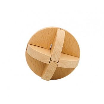 Головоломка MD 2056 деревянная (Узловой мяч)