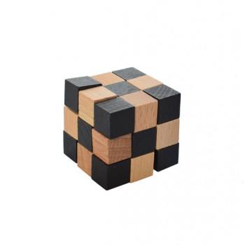 Головоломка MD 2056 деревянная (Кубик-змейка)