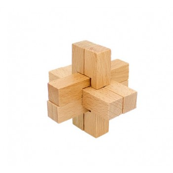 Головоломка MD 2056 деревянная (Крест)