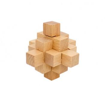 Головоломка MD 2056 деревянная (Ананасовый узел)