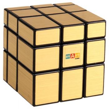 Кубик Рубика Зеркальный Smart Cube SC352 золотой