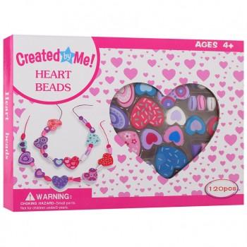 Детская развивающая игрушка Шнуровка MD 2032 деревянная ( 2032-1 Сердце бусы)