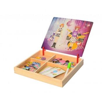 Развивающая  игрушка Гардероб MD 1339 деревянная (Клуб)