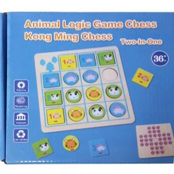 Детская развивающая игра MD 2461 деревянная (Синий)