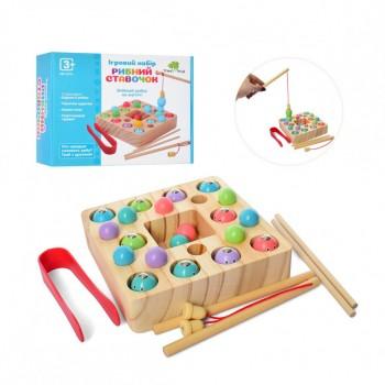 Деревянная игрушка Рыбалка MD 2214 магнитная