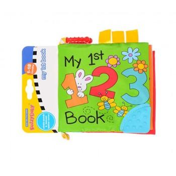 Детская подвеска-книжка на коляску 14220, 2 вида (Цифры)