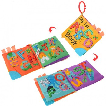 Детская подвеска-книжка на коляску 14220, 2 вида (Буквы)