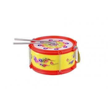 Барабан детский 019 с палочками (Красный)