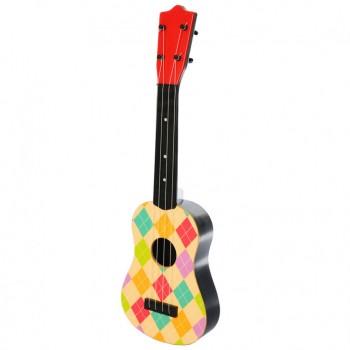 Детская Гитара 2508D в чехле 57 см (Разноцветные ромбы)