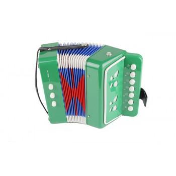 Гармошка игрушечная 6429 4 вида (Зелёный)