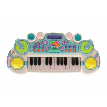 Детский синтезатор CY-6032B(Blue), 24 клавиши