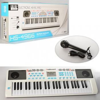 Детский синтезатор HS4966B на 49 клавиш