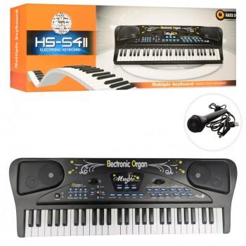 Детский синтезатор HS5411, 54 клавиши
