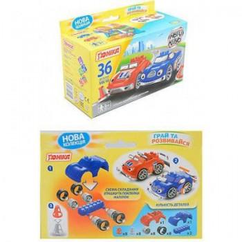 """Детская игрушка конструктор """"Автоклуб"""" МК-10 71184, 36 деталей"""